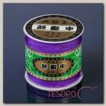 Шнур ШАМБАЛА длина 100м, толщина 0,8мм, цвет фиолетовый
