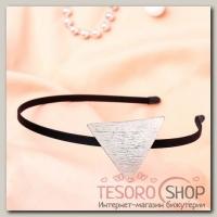 Ободок для волос Либерти треугольник - бижутерия