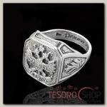 Кольцо Россия, размер 20, цвет чернёное серебро