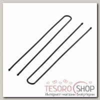 Шпилька для волос Народная 8,5 см, чёрная (набор 10 шт) - бижутерия