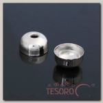 Концевик (набор 20шт) 7x10мм СМ-297, цвет серебро