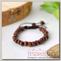 Браслет шамбала Дерево, цвет коричневый - бижутерия