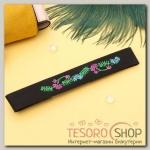Чокер Роуз вышивка, цветочный луг, цветной - бижутерия