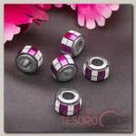 Разделитель Кубики блестящие, цвет малиновый - бижутерия