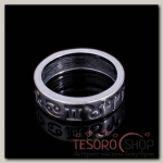 Кольцо Бредис, размер 19, цвет чернёное серебро