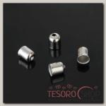 Концевик, 5x6 мм (набор 20шт), СМ-300, цвет серебро