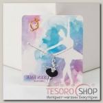 Кулон Балерина арабеск, цвет МИКС, 45 см - бижутерия