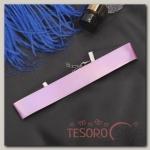 Чокер Дискотека широкий, цвет розовый - бижутерия