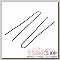 Шпильки для волос чёрные, 7,5 см (набор 10 шт.) - бижутерия