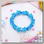 Браслет детский Выбражулька бабочки кружатся, цвет голубой - бижутерия