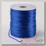 Шнур нейлоновый d=1мм L=100м, цвет ярко-синий