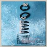 Набор для волос Амалия (набор 24 шт, 5 см, 6 см) бабочка - бижутерия