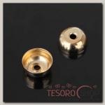 Концевик (набор 10шт) 7x12мм СМ-298, цвет золото