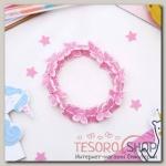Браслет детский Выбражулька бабочки кружатся, цвет розовый - бижутерия