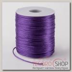 Шнур нейлоновый d=1мм L=100м, цвет фиолетовый