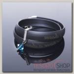 Браслет Dream, цвет синий в чернёном серебре - бижутерия