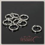 Кольцо соединительное 1,6x10мм (набор 50гр) СМ-1009, цвет серебро